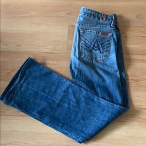 "7 for All Mankind ""A"" Pocket jean - size 28"